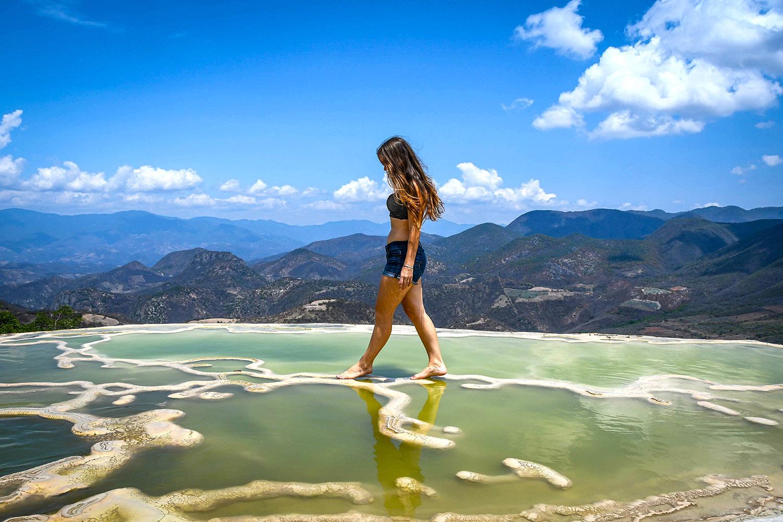 Things to Do in Oaxaca Free Hierve el Agua