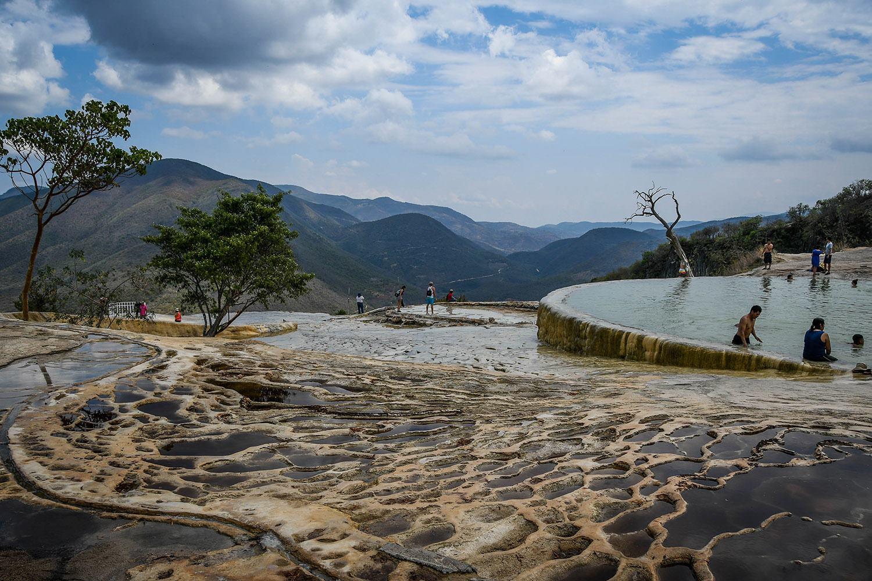 Things to Do in Oaxaca Hierve el Agua
