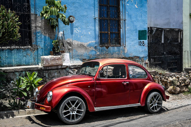 Things to Do in Oaxaca Vintage VW Bugs