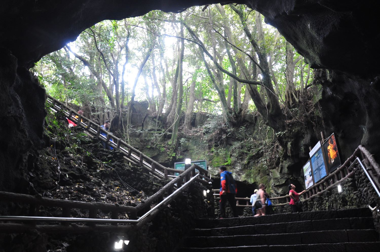 Jeju Manjanggul Lava Tube
