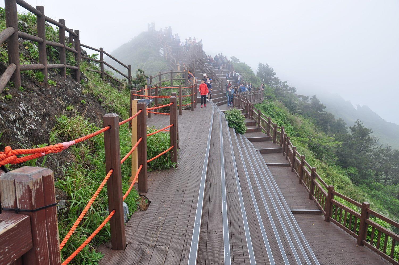 Jeje Sunrise Peak Seongsan Ilchulbong Peak