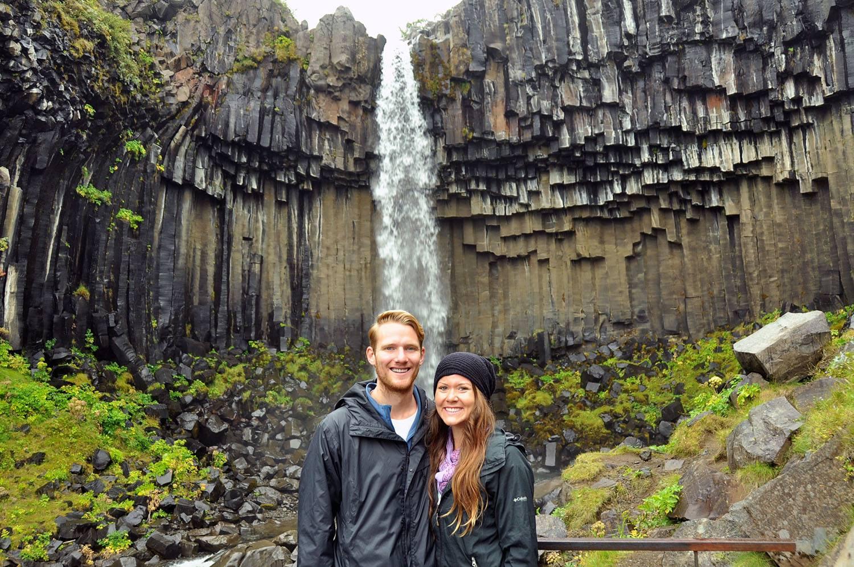 Svartifoss Black Waterfall Iceland