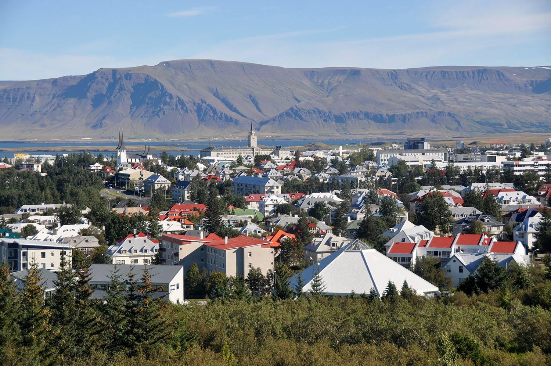 Perlan Viewpoint of Reykjavik
