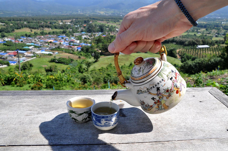 Pai Thailand Viewpoint Tea