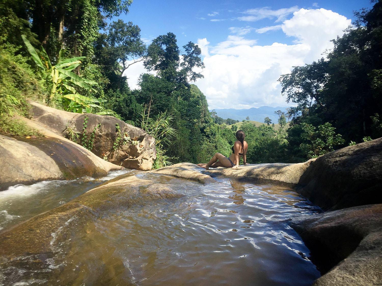 Pai Thailand Waterfall