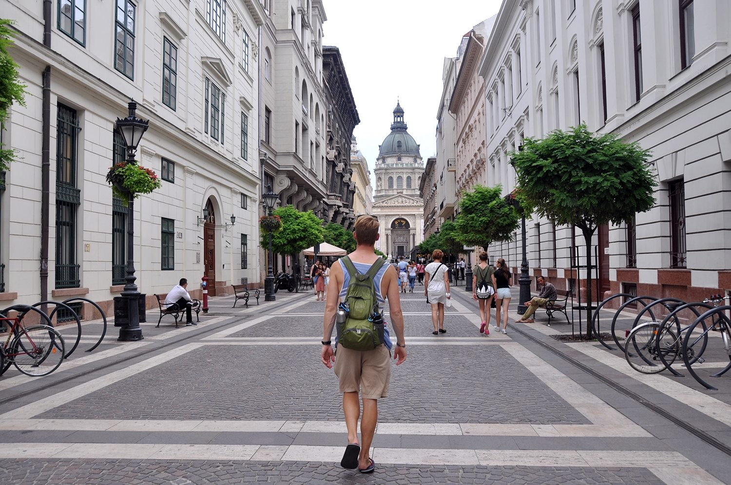 Walking Street Things to do in Budapest Travel