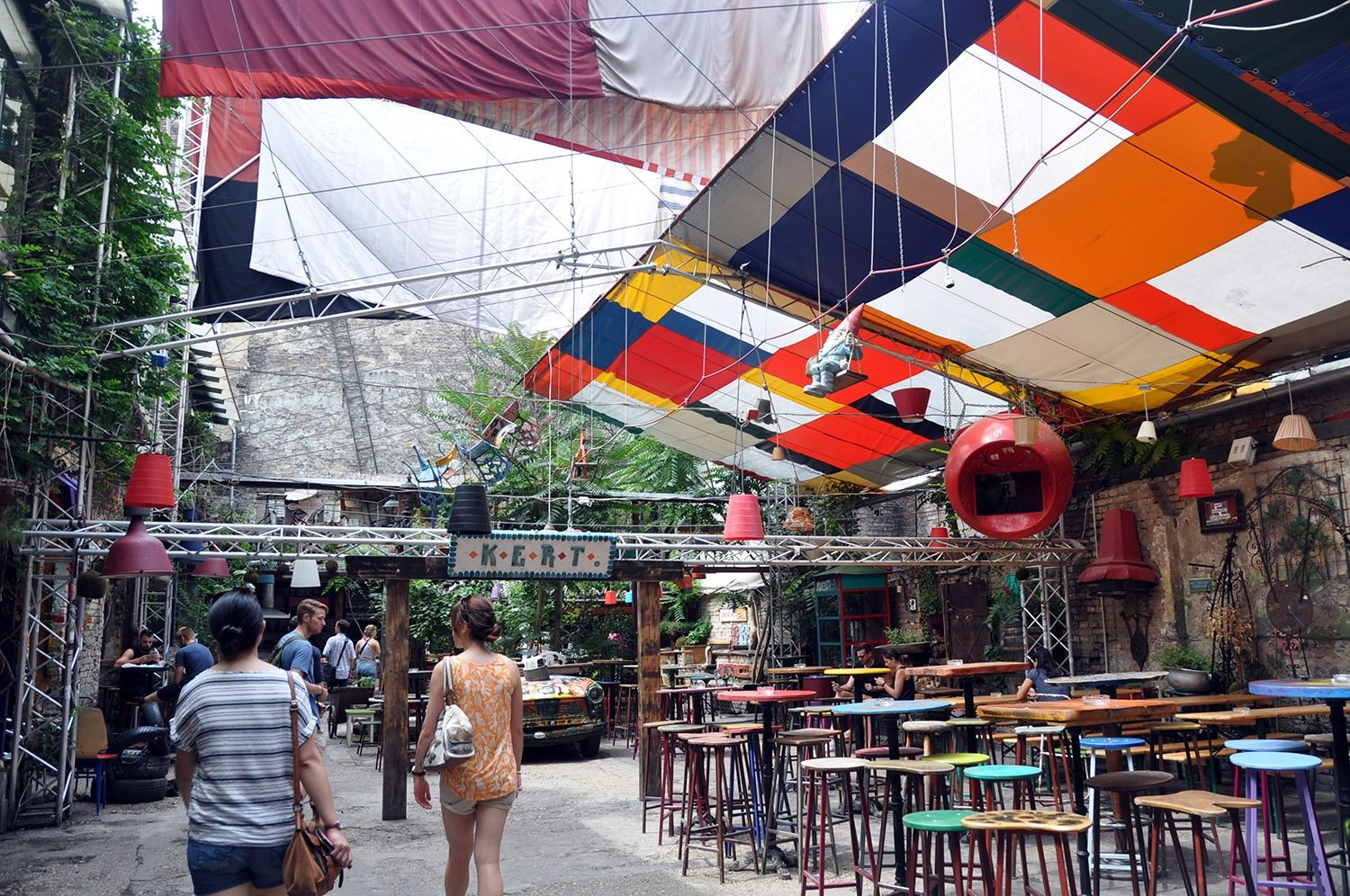 Szimpla Kert Farmers Market Things to Do in Budapest Travel