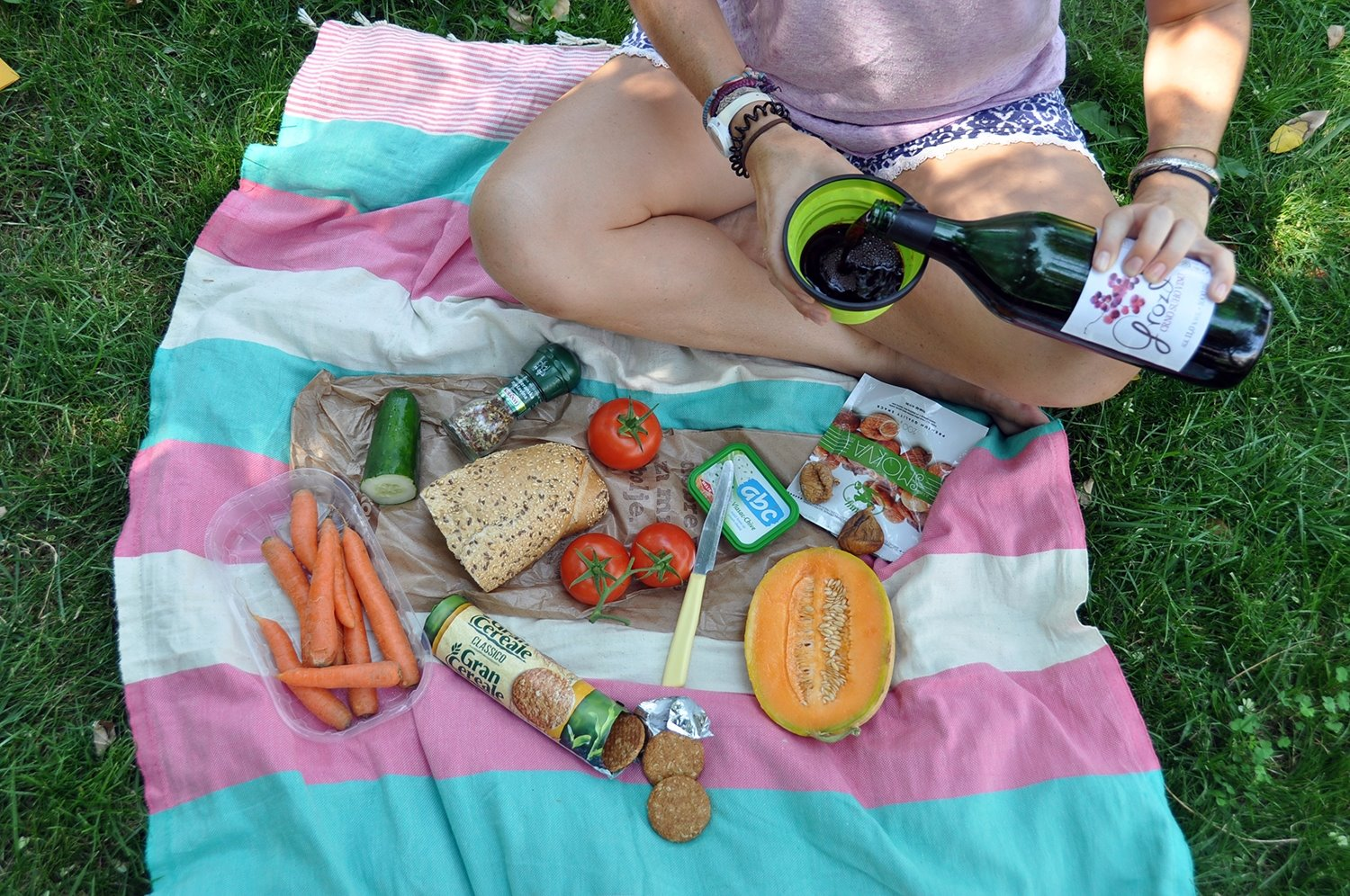 Picnic with Wine Maragaret Island Things to Do in Budapest Travel