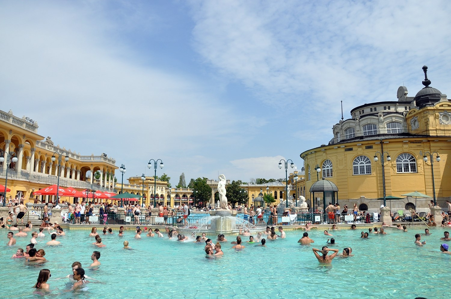 Széchenyi Thermal Bath Things to Do in Budapest Travel