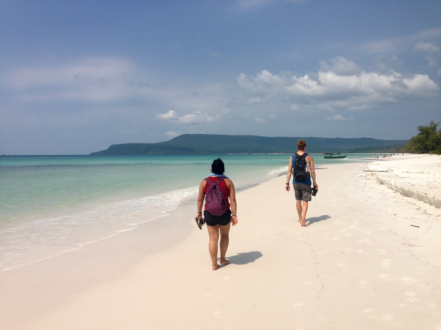 Two Weeks in Cambodia Itinerary Long Beach Koh Rong