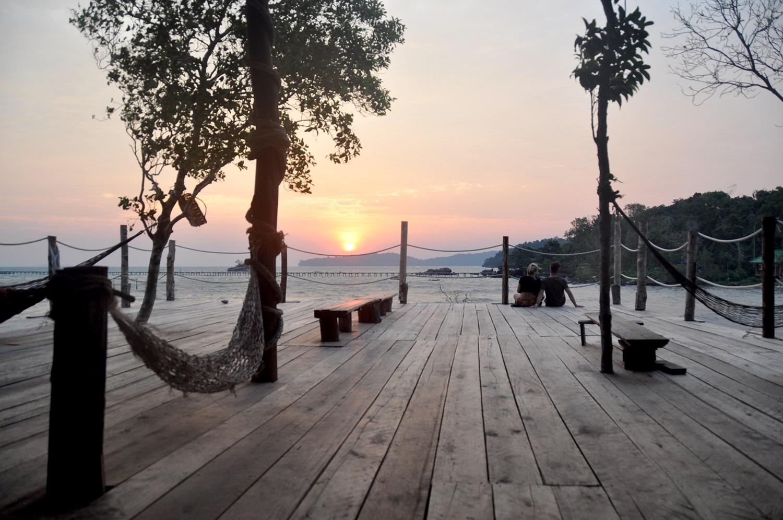 Two Weeks in Cambodia Itinerary Koh Rong Samloem Mad Monkey Hostel