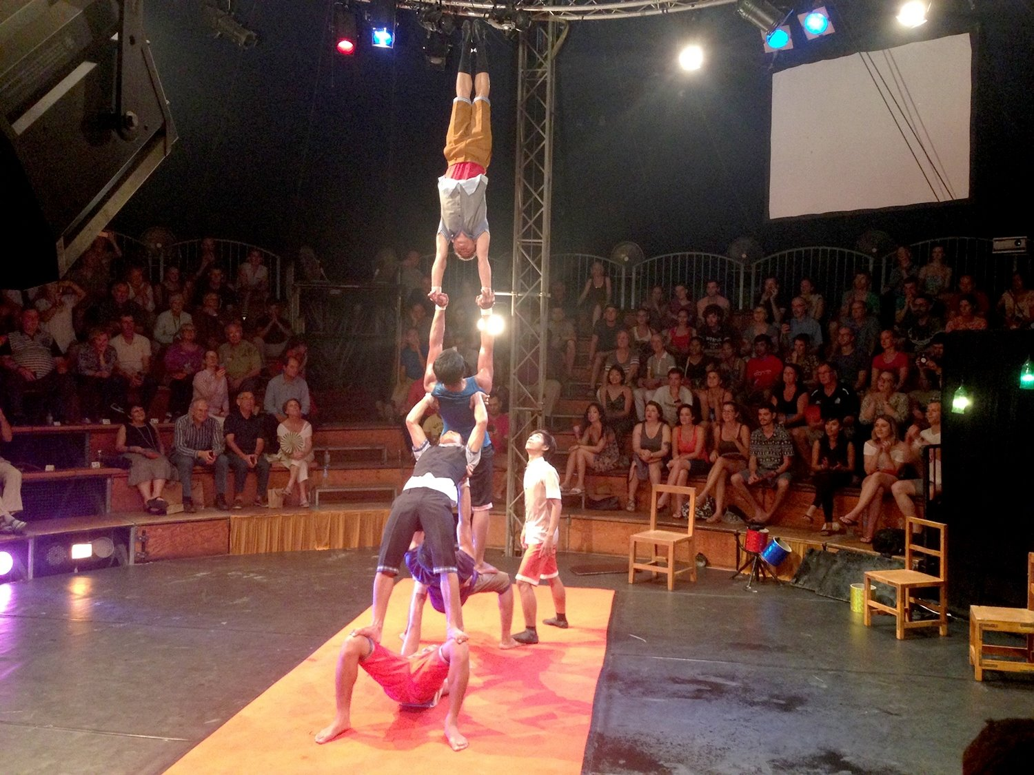 Two Weeks in Cambodia Itinerary Siem Reap Phare Circus