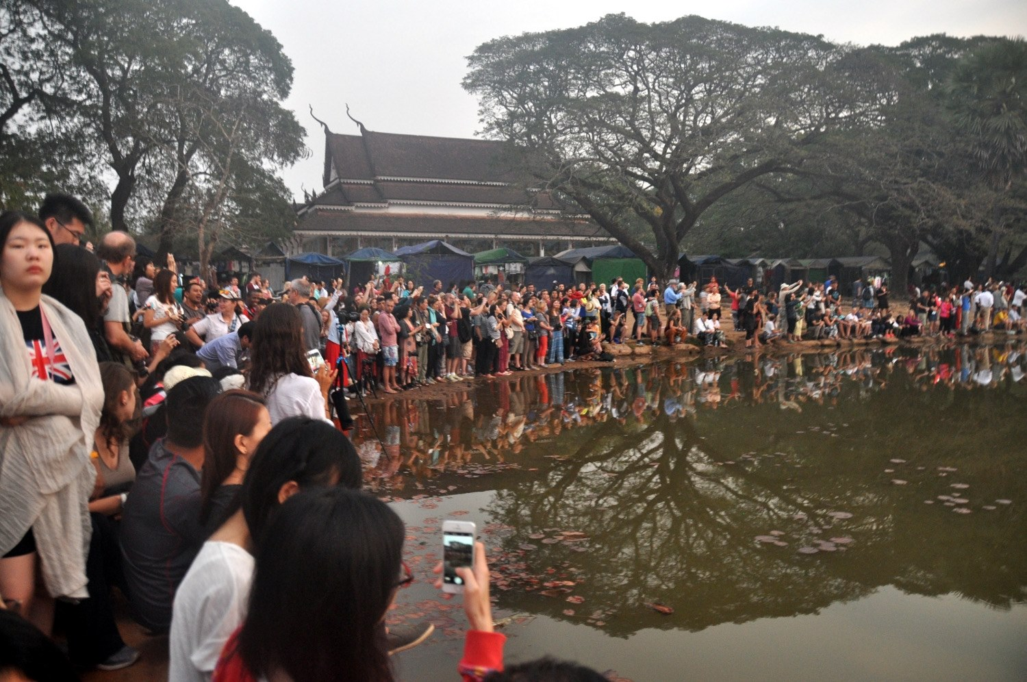 Two Weeks in Cambodia Itinerary Angkor Wat Temples Crowds