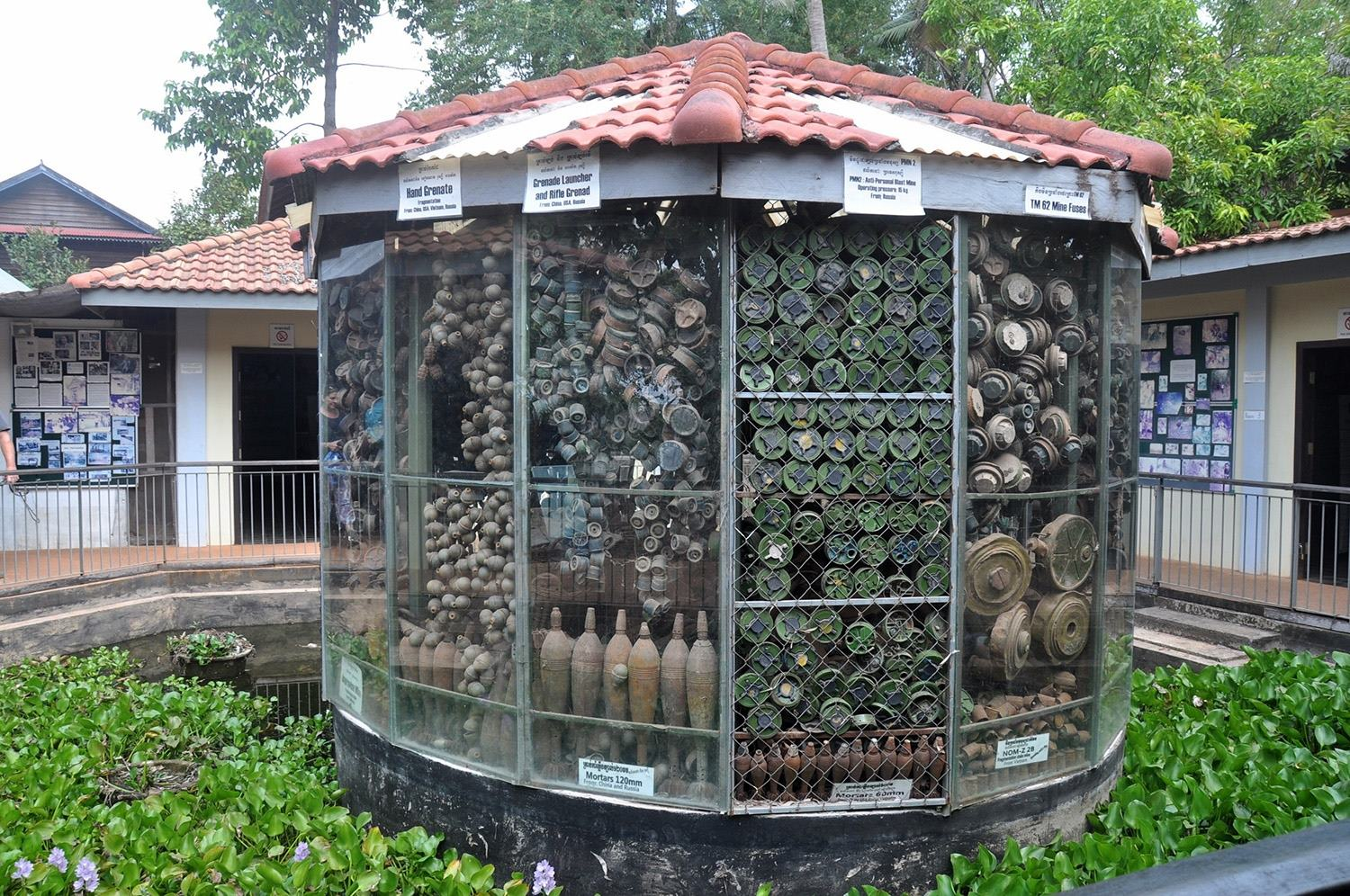 Two Weeks in Cambodia Itinerary Landmine Museum