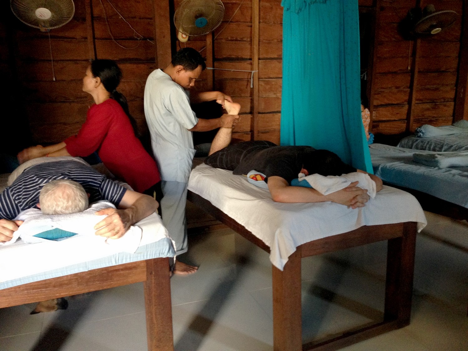 Two Weeks in Cambodia Itinerary Blind Massage