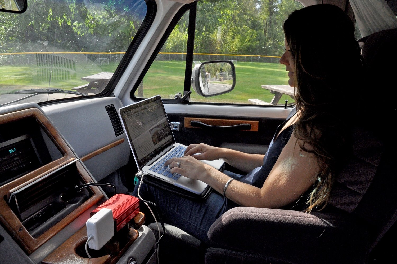 Campervan Gear Packing List Bestek 300W Power Inverter