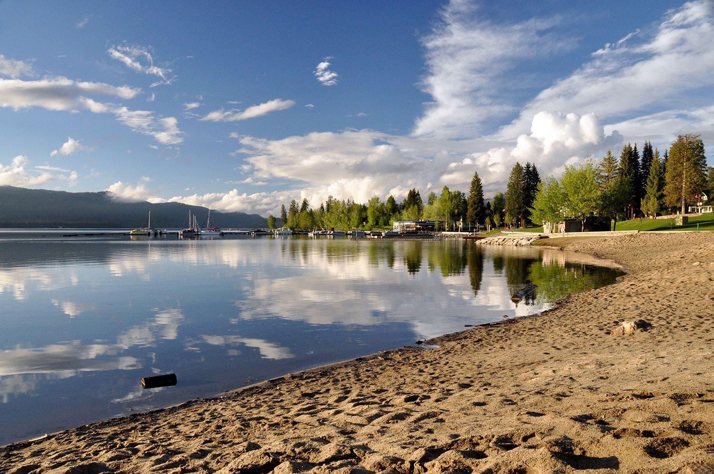 One Wild Week Road Tripping in Idaho McCall Beach