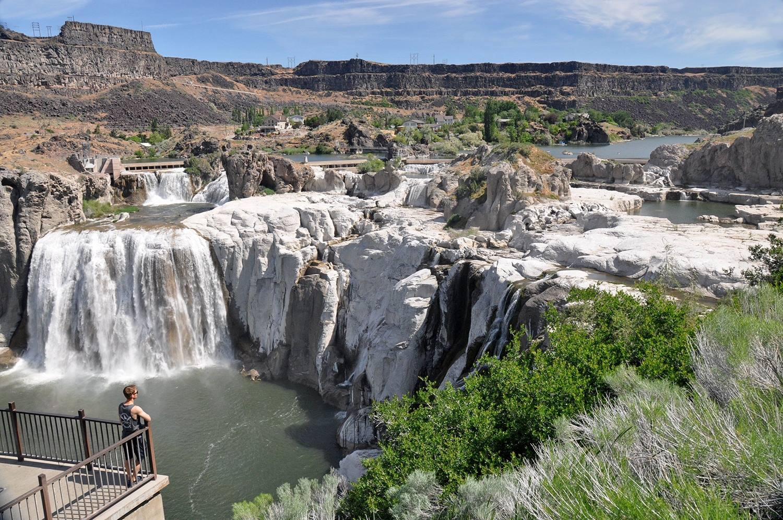 One Wild Week Road Tripping in Idaho Shoshone Falls