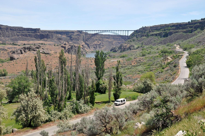 One Wild Week Road Tripping in Idaho Perrine Memorial Bridge