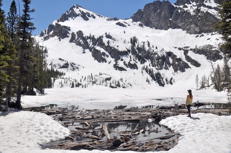 One Wild Week Road Tripping in Idaho Sawtooth Mountains Alpine Lake Spring