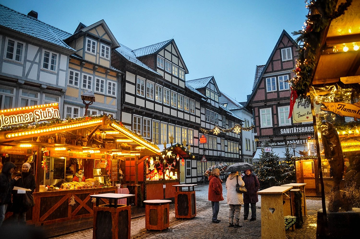 Christmas Market Celle Germany