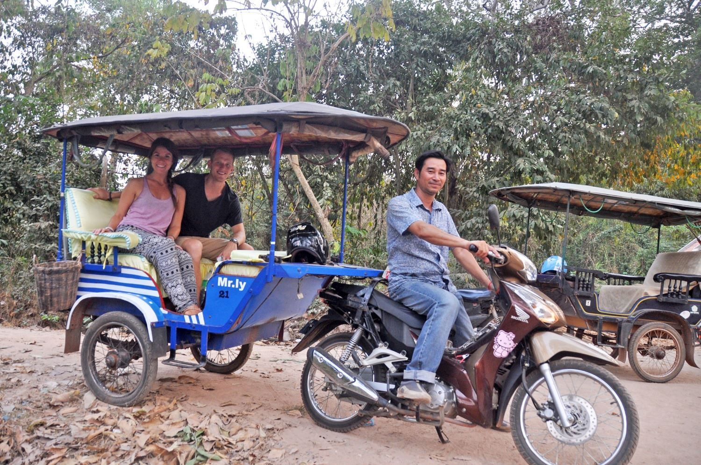 Tuk Tuk Driver Angkor Wat