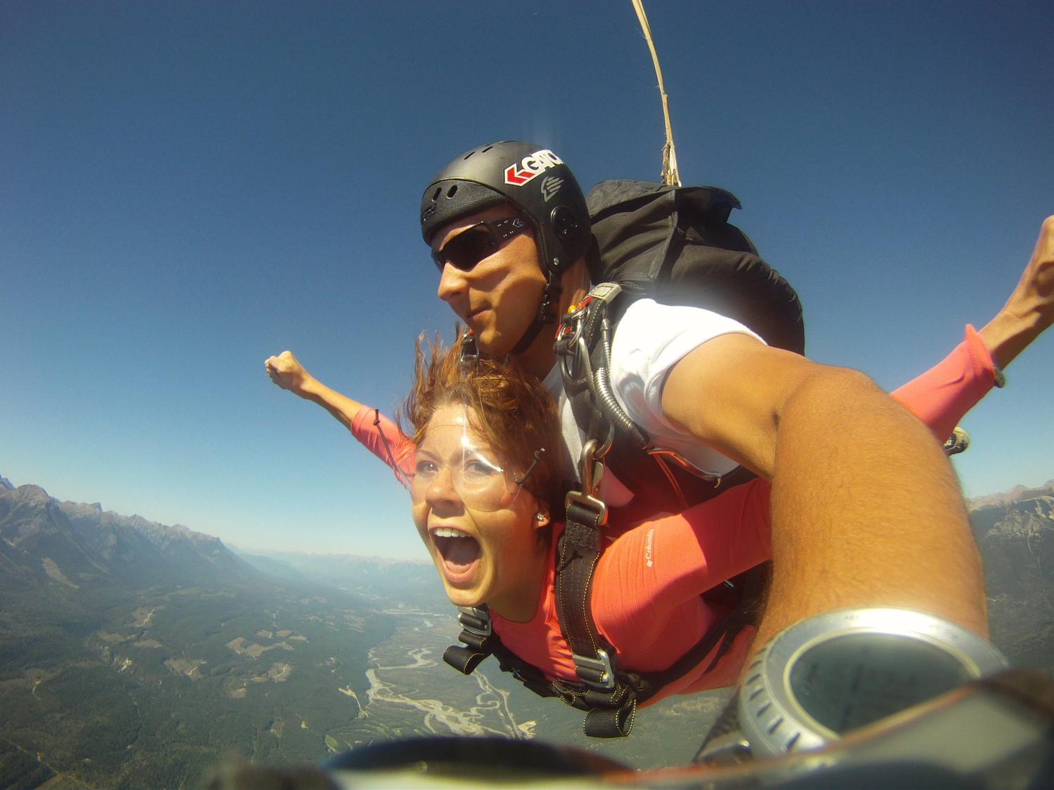 Skydiving British Colombia