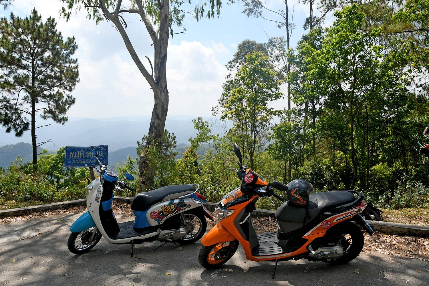 Motorbike Off the beaten Path Day Trip from Chiang Mai Thailand