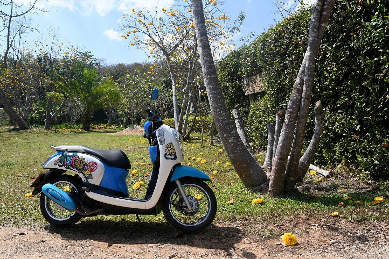 Off the beaten Path Day Trip from Chiang Mai Thailand Motorbike