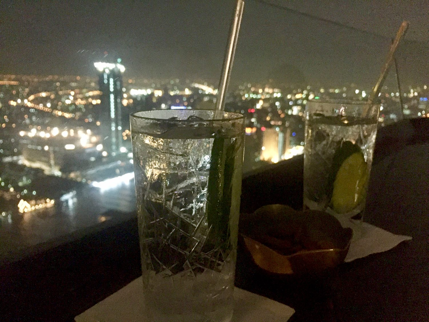 Gin & Tonic Sky Bar Bangkok