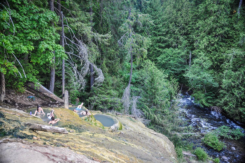 Things to Do in Oregon Umpqua Hot Springs Umpqua National Forest