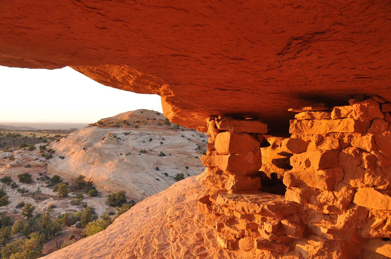 Aztec Butte Canyonlands National Park Sunset