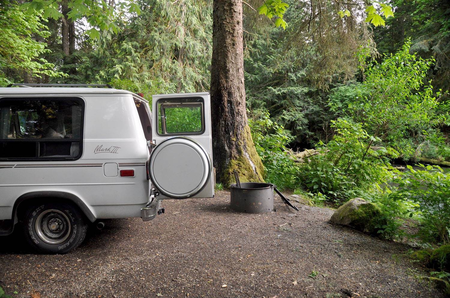Lyre Campground Olympic Peninsula