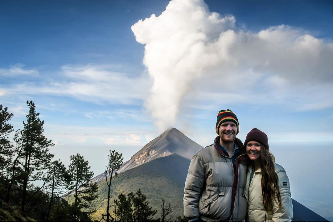 Viewing Volcan Fuego in Guatemala