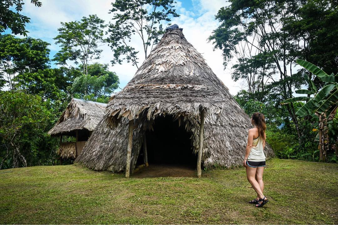 Bri Bri Hut in Costa Rica