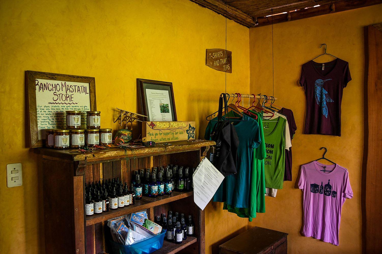 Rancho Mastatal Sustainable Lodge Store