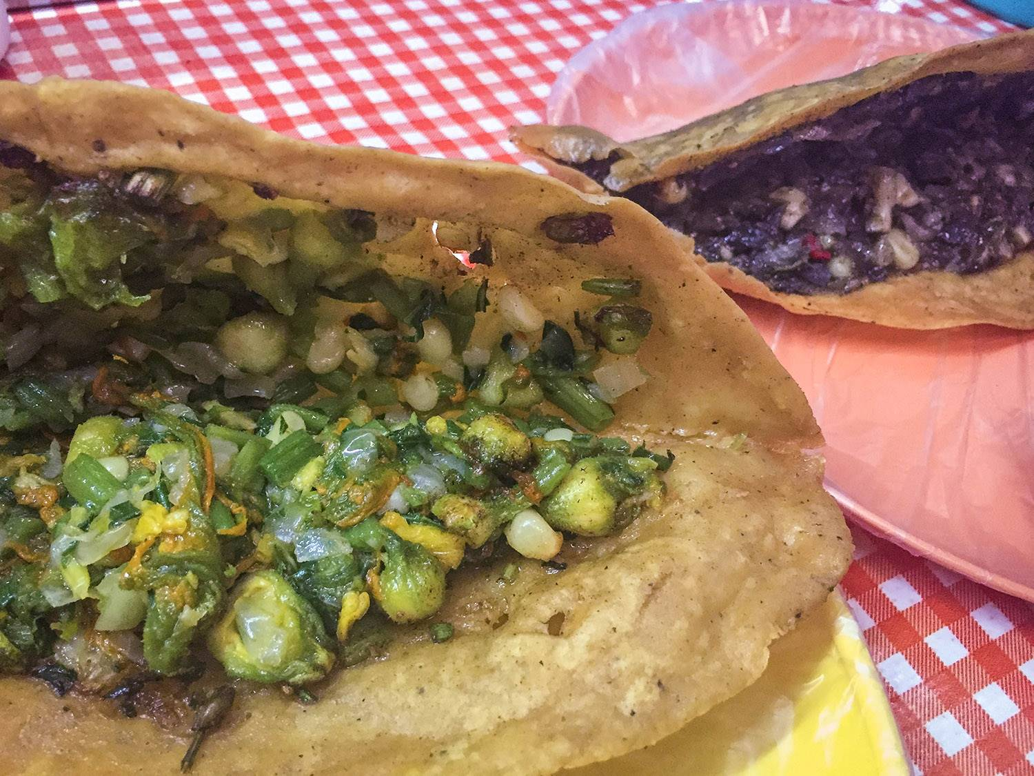 Things to Do in Mexico Huitlacoche Quesadilla