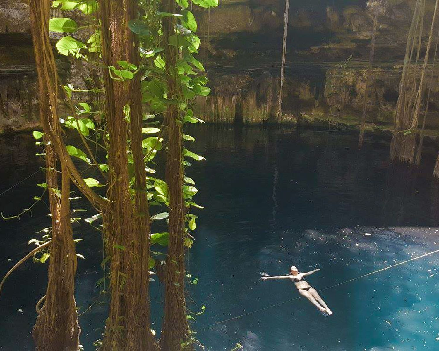 Photo of Mexican Cenotes courtesy of Lindsay from  Bright in the World