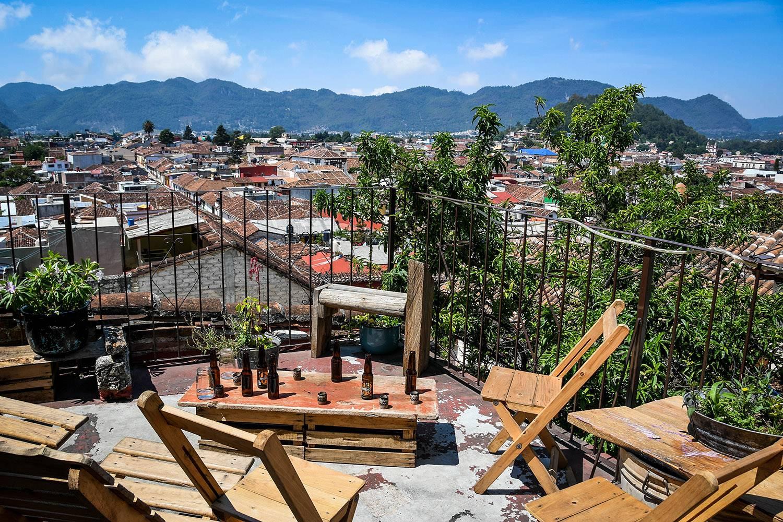 Things to Do in San Cristobal de las Casas Roof Top Colectivo Murda