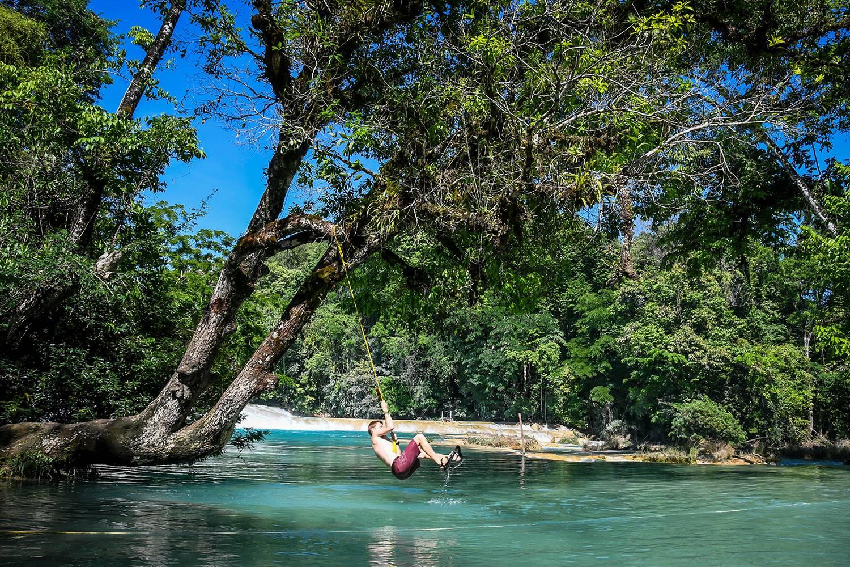 Things to do in San Cristóbal Aqua Azul Rope Swing