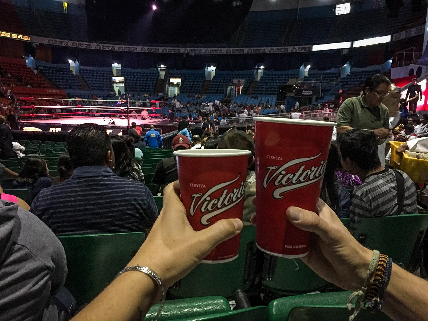 Lucha Libre in Mexico City Without a Tour Beer