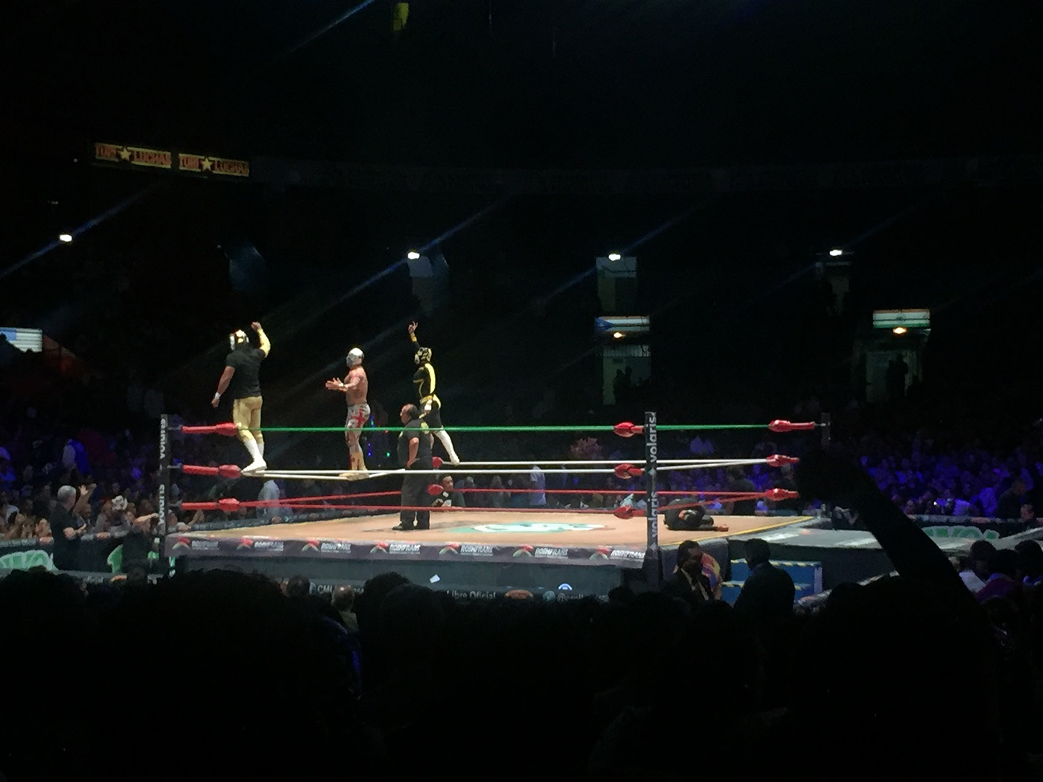 Lucha Libre in Mexico City Without a Tour Wrestling Ring