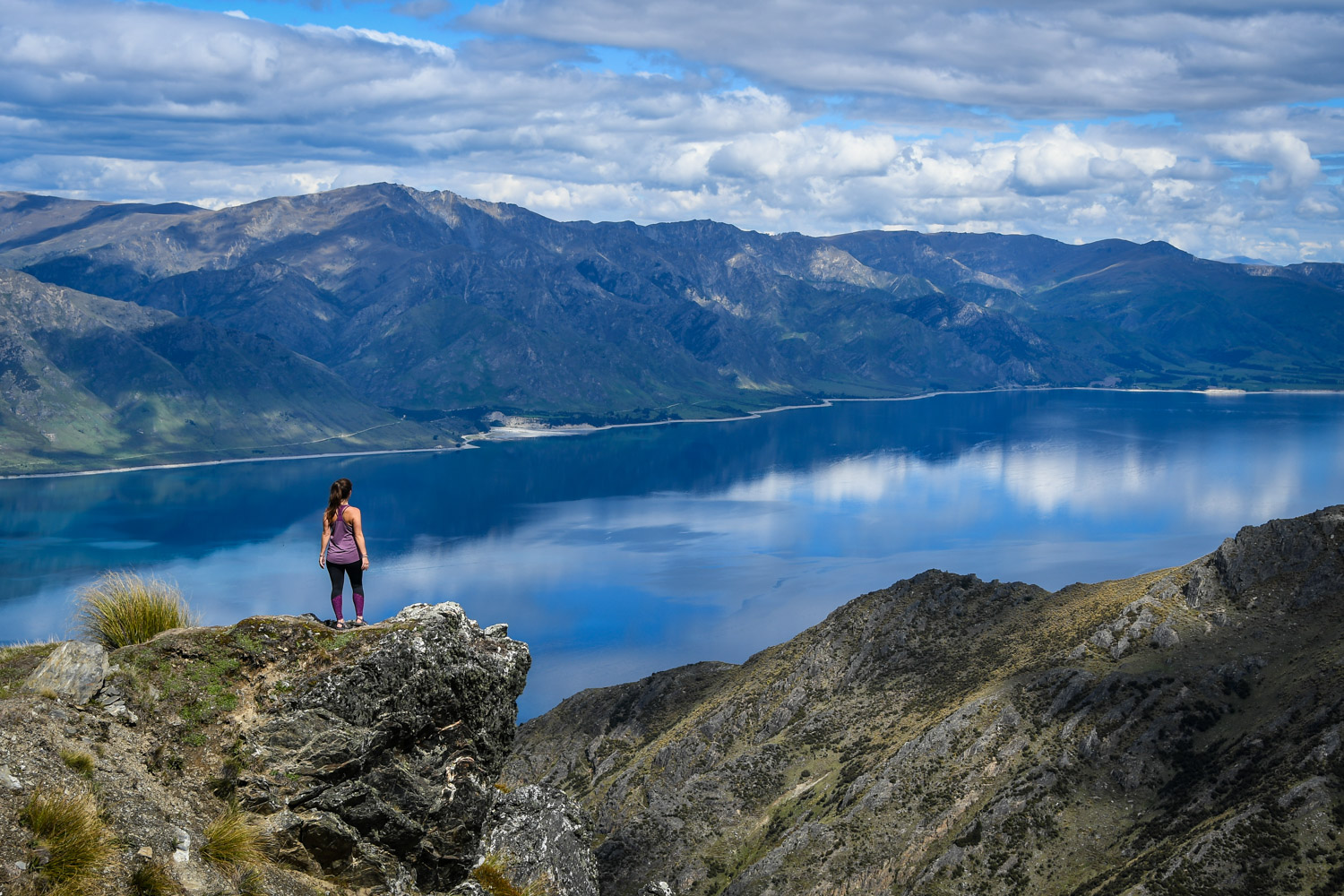 Top Things to Do in New Zealand Hiking Isthmus Peak