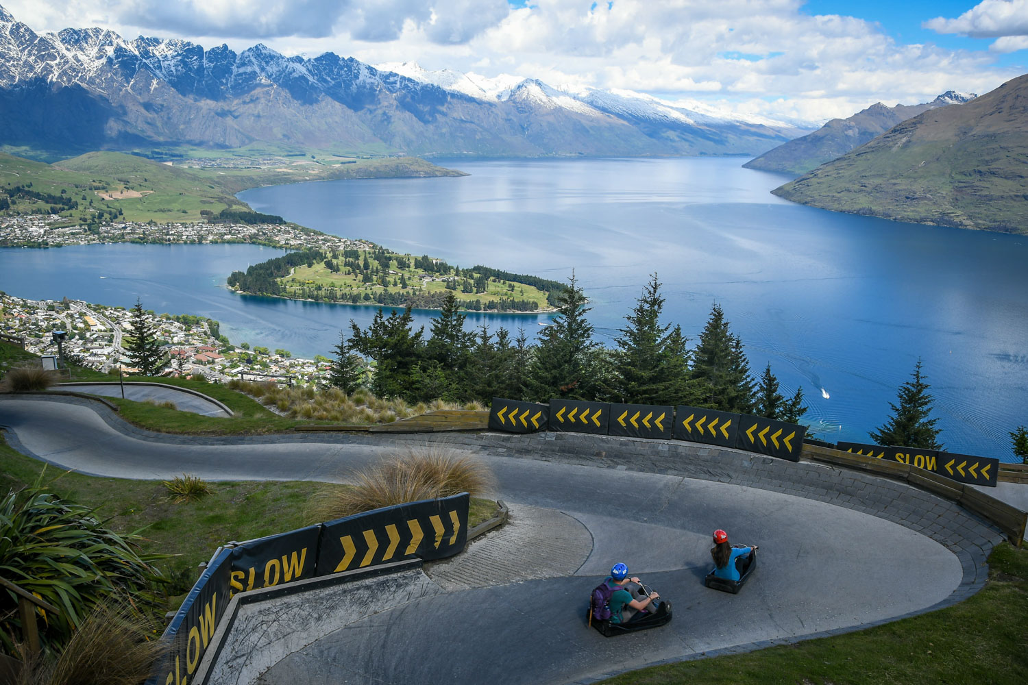 Top Things to Do in New Zealand Queenstown Skyline Luge