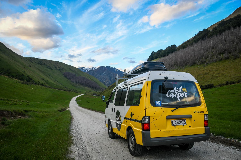 Campervan Rental New Zealand Mad Campers