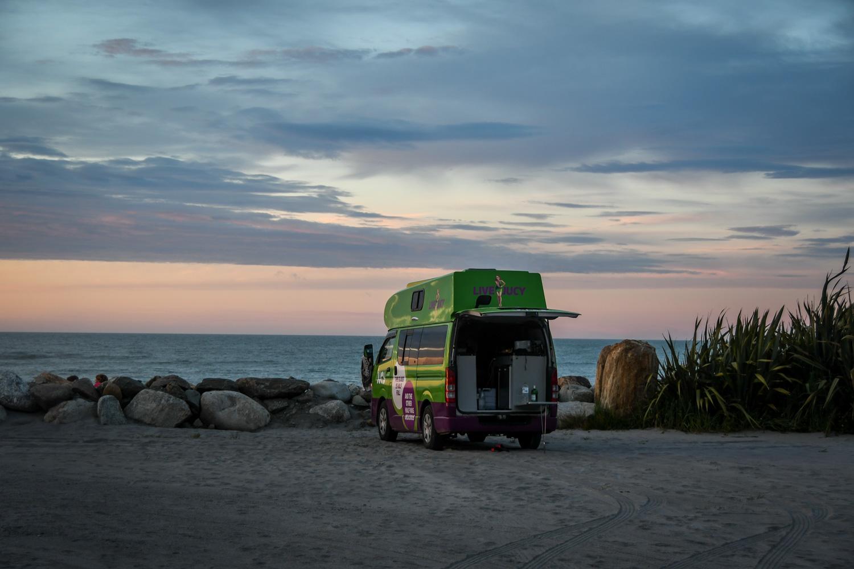 Campervan Rental New Zealand Jucy Campervan