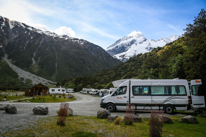 Campervan Rental New Zealand Britz Campervan