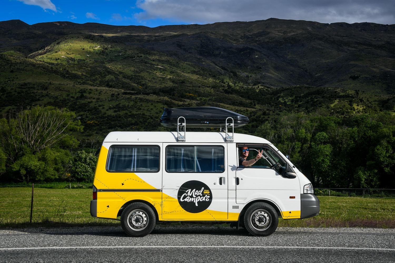 New Zealand Budget Travel Campervan Transportation