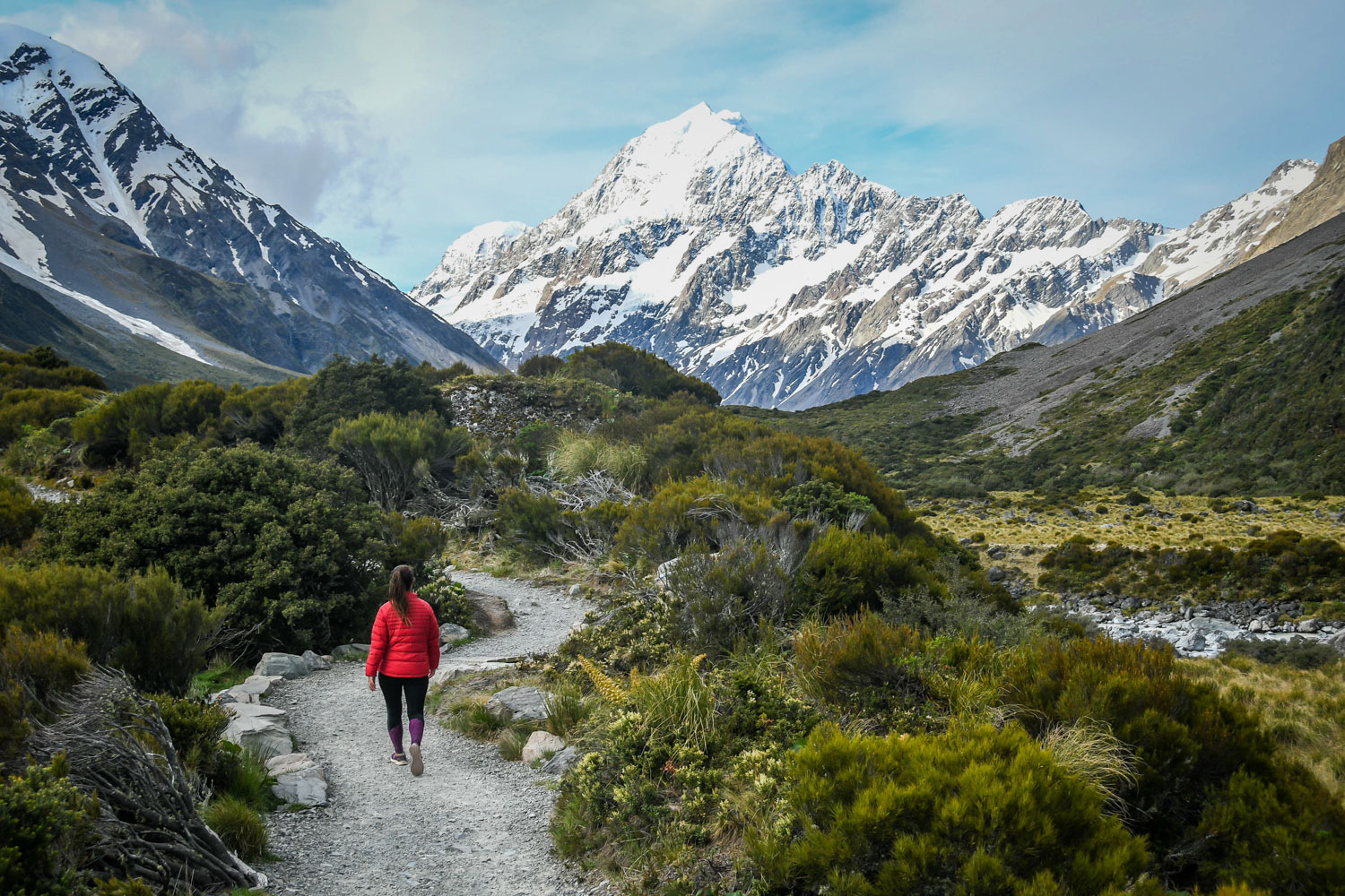 New Zealand Budget Travel Hooker Valley Track