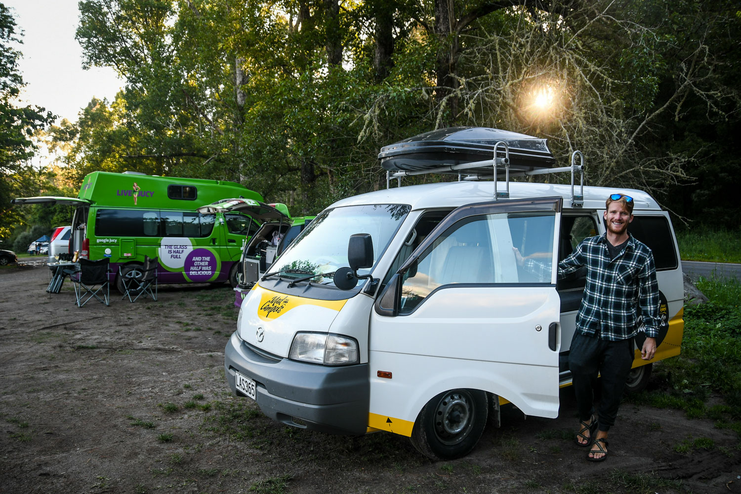 New Zealand Budget Travel Free Campsites